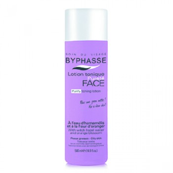 BYPHASSE TONER FOR OILY SKIN WITH HAMAMELISOM
