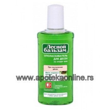 MOUTHWASH WITH SAGE AND CEDAR NUT OIL